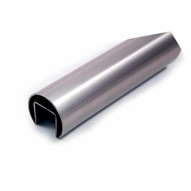 stainless steel glass channel tube